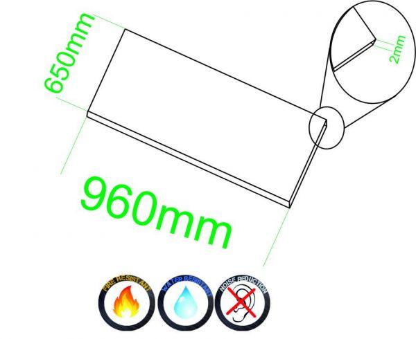 Samolepiace dosky 2mm