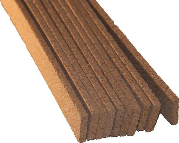 Dilatačné korkové lišty 925x16x7mm